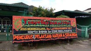 harga Karangan Bunga Papan di Sematang Borang Palembang sumatera selatan