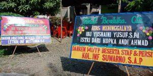 daftar Papan bunga di Sigi Biromaru Sulawesi Tengah