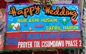 harga Karangan Bunga papan di Donggala Sulawesi Tengah