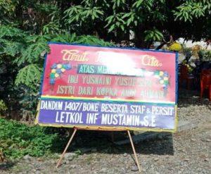 alamat Karangan Bunga papan di Donggala Sulawesi Tengah